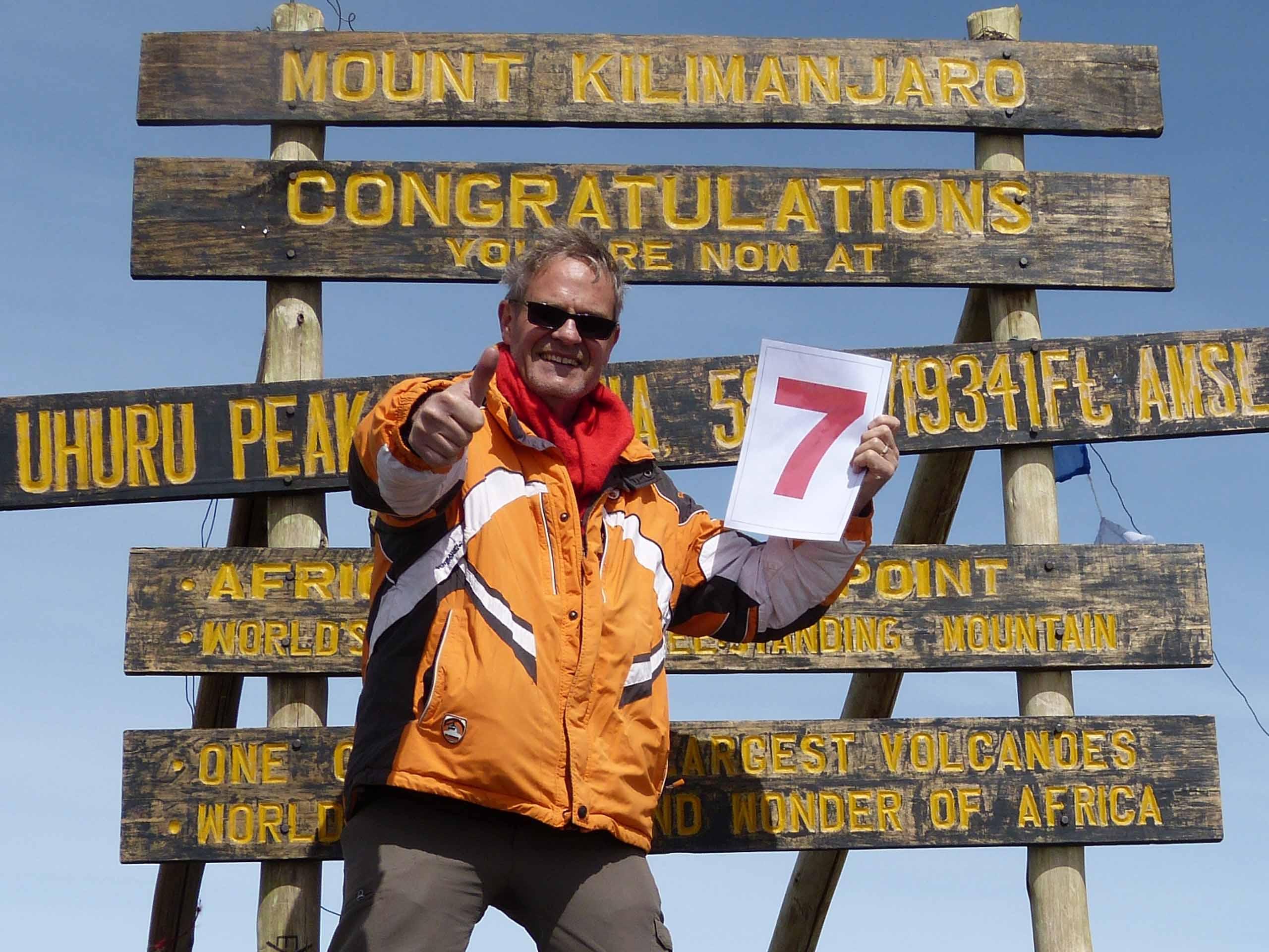 Martin's 7th climb