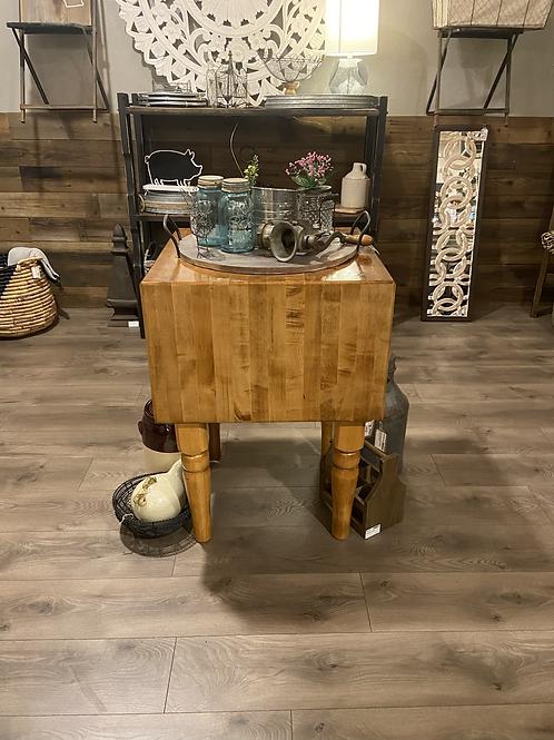 Solid wood handmade butcher block