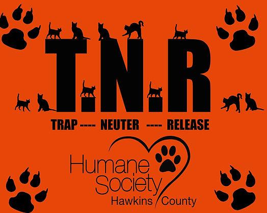 TNR feral cat program logo