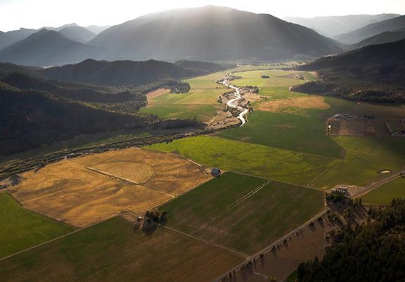 Aerial View of Scott Valley