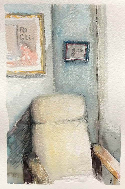 30 in 30 - day 8 - The chair by the window