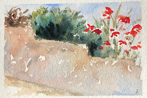 30 in 30 - day 20 - Winslow Homer's Wall re-imagined on a hill