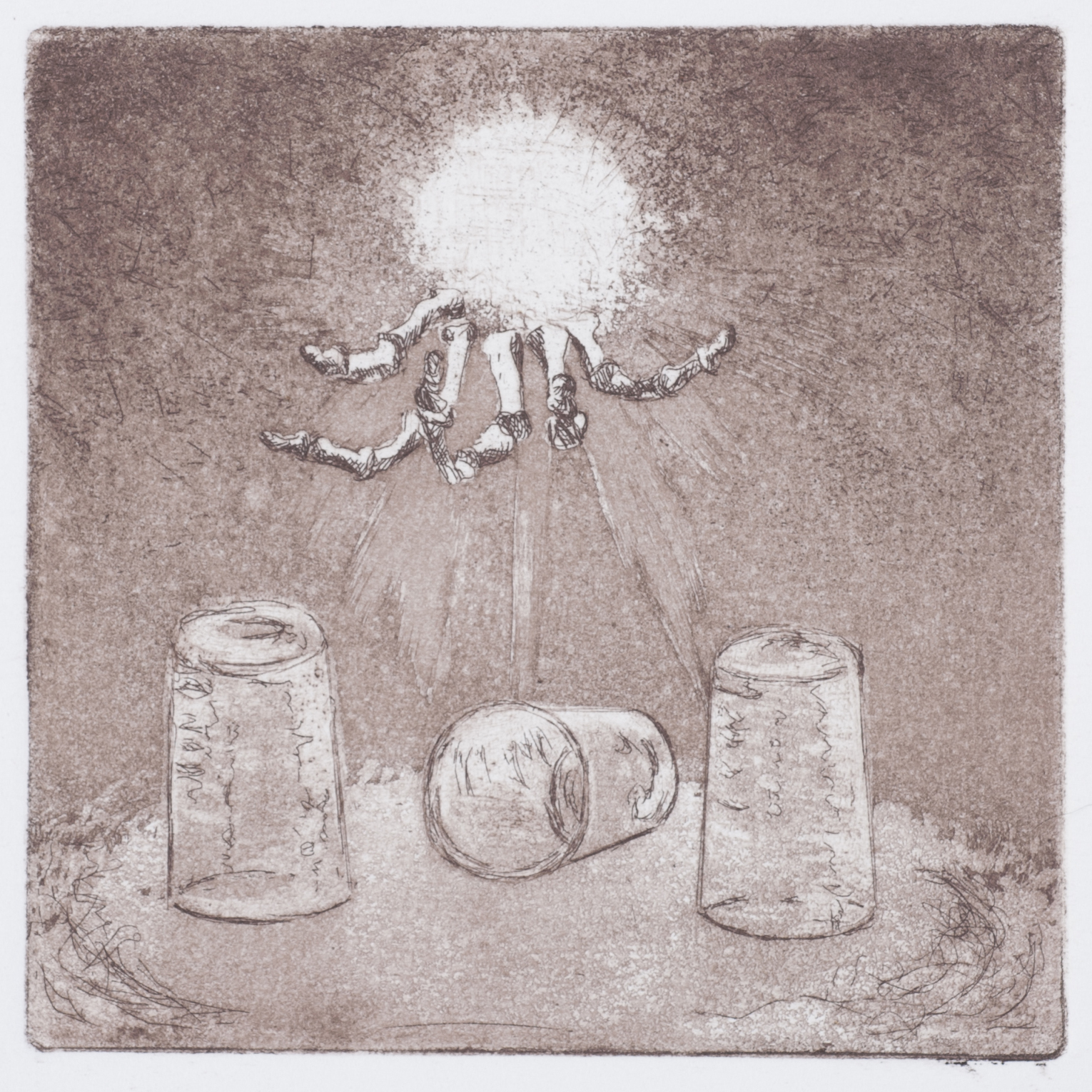 Rigney- lifes a shell game, 10cm x 10cm,etching copy.jpg