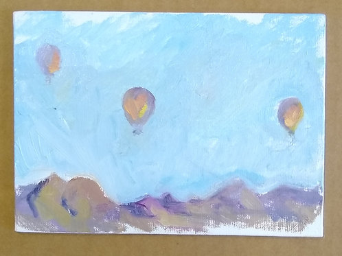 three more balloons