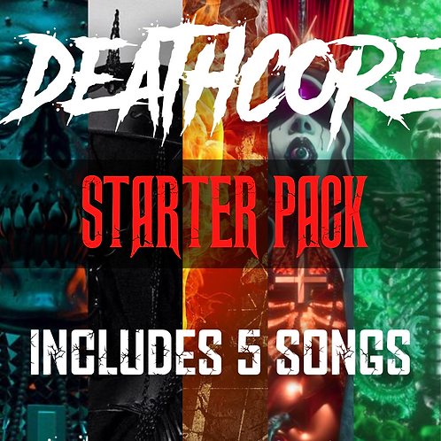 Starter Pack: DEATHCORE (Check description for track listing)