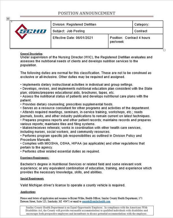 Job Posting Reg Dietitian..JPG