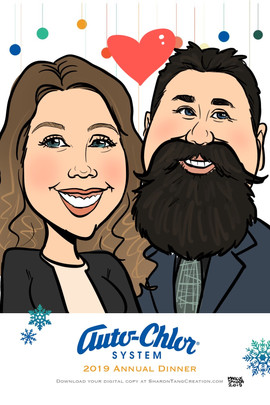 Digital Caricature for Holiday Parties