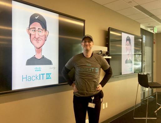 hackathon at cisco