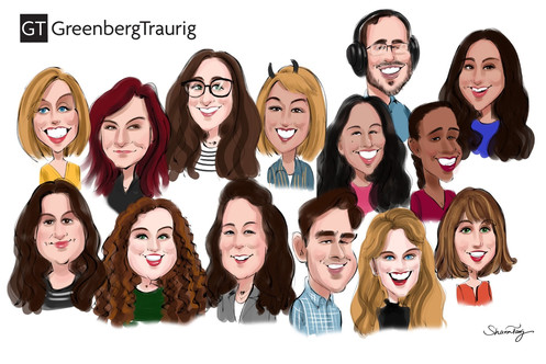 Group Company caricatures