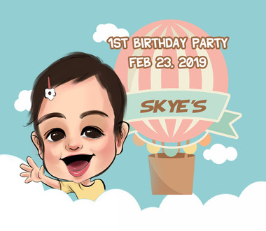 Skye's 1st Birthday Party