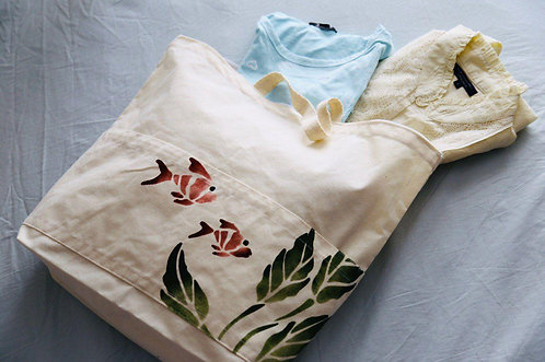 کیسه پارچهای خانوادهی زیپدار, Tote bag (Model: family with zipper)