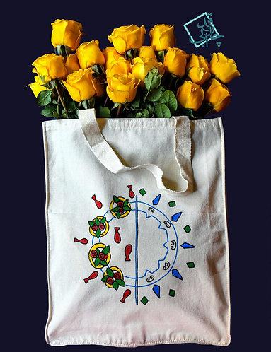 کیسه نقاشی کوچک, Tote bag (model:painting)