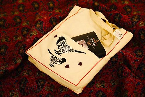 کیسه پارچهای جیبدار کوچک, Tote bag (Model: small pockety)