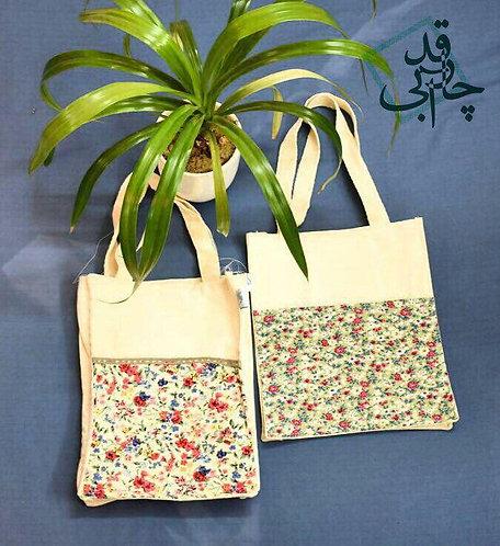 کیسه پارچهای جیبدار متوسط, Tote bag (Model: medium pockety)