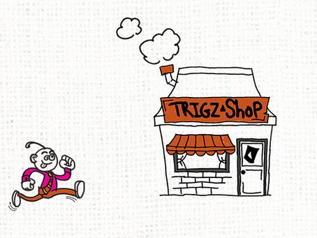 Trigz Corn Chips Website