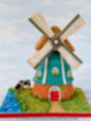 Gingerbread Windmill - advanced class.jp