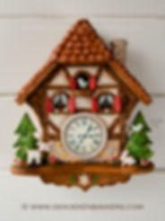 Cuckoo Clock traditional - De Koekenbakk