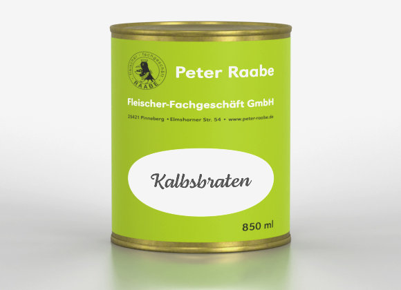 Kalbsbraten