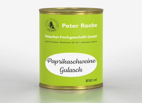 Paprikaschweine - Gulasch