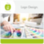 Logo Design erfrischende Werbung