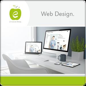 Webdesig Logo Design erfrischende Werbung