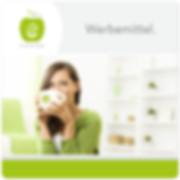 Werbemittel Logo Design erfrischende Werbung