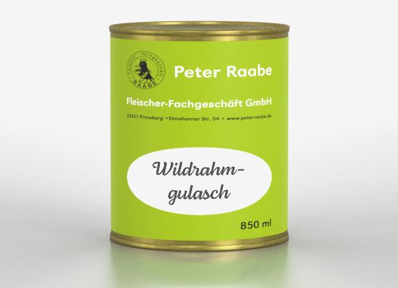 Wildrahmgulasch