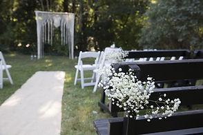 Backyard Cape Cod Wedding at the Rugosa.