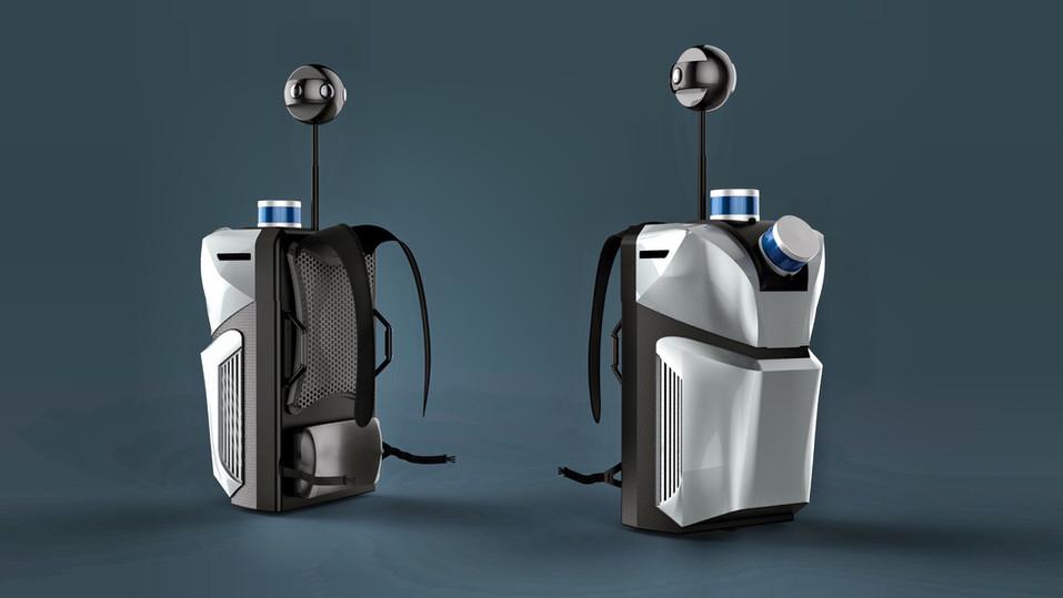 VR Backpack | Aibee Inc.