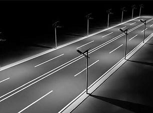 תאורת רחוב סולארית