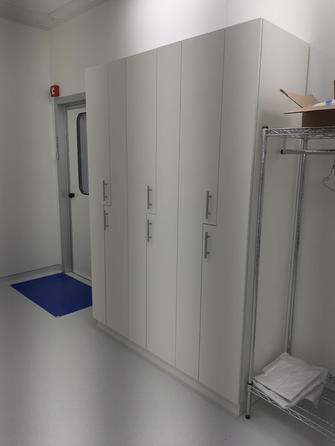 יעוץ ותכנון חדר נקי 100 מר