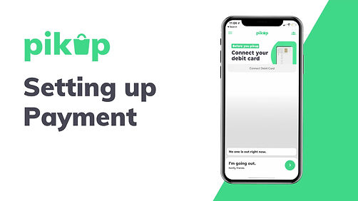 How to set up payment on Pikup