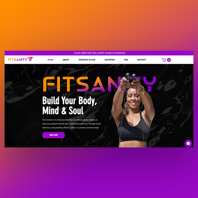FitSanity Website