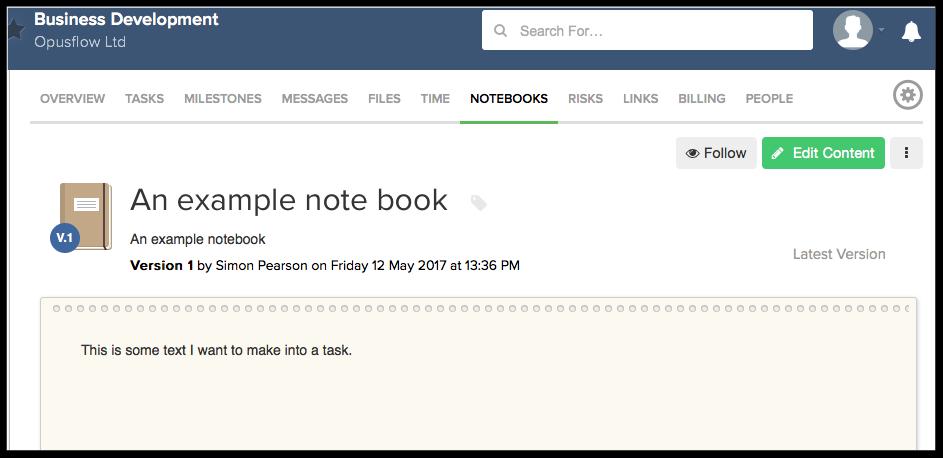 Teamwork Notebook