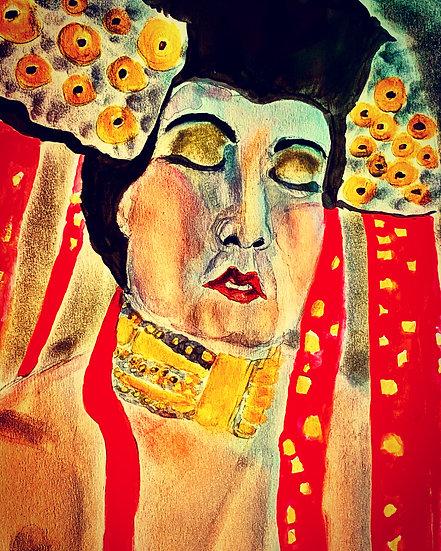 Emily, Channeling Klimt