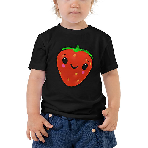 Toddler Short Sleeve Tee - Strawberry