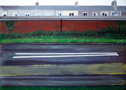 Untitled Road Painting (The Rows)