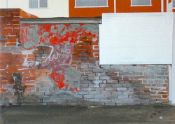 Untitled Alley Painting (North Seaton Road)