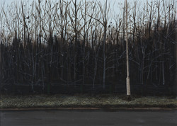 Untitled Trees Painting (Colliery)
