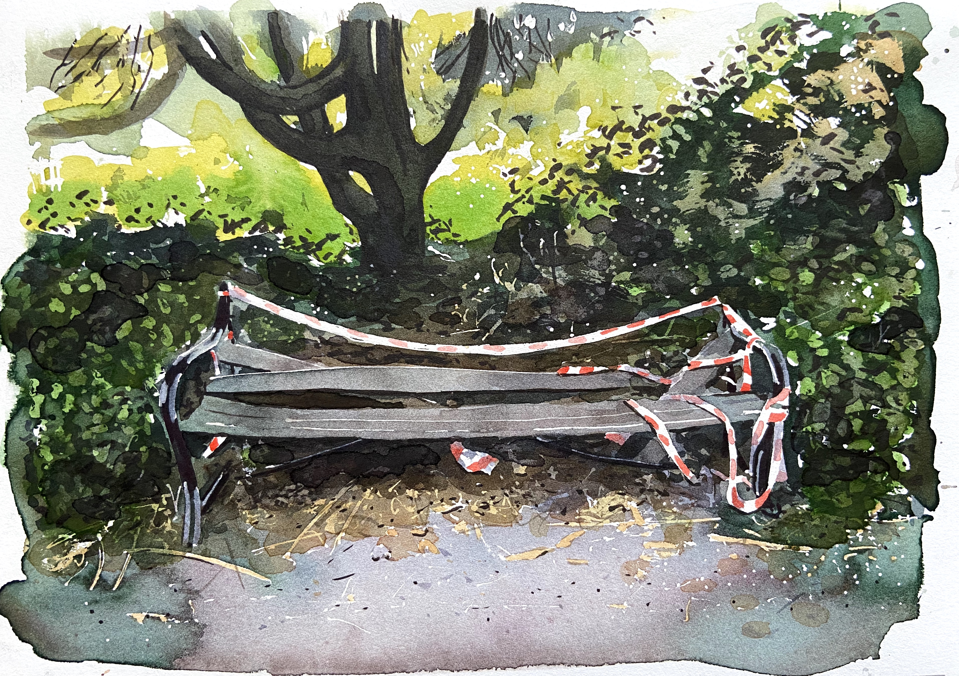 Untitled (Bench) 40