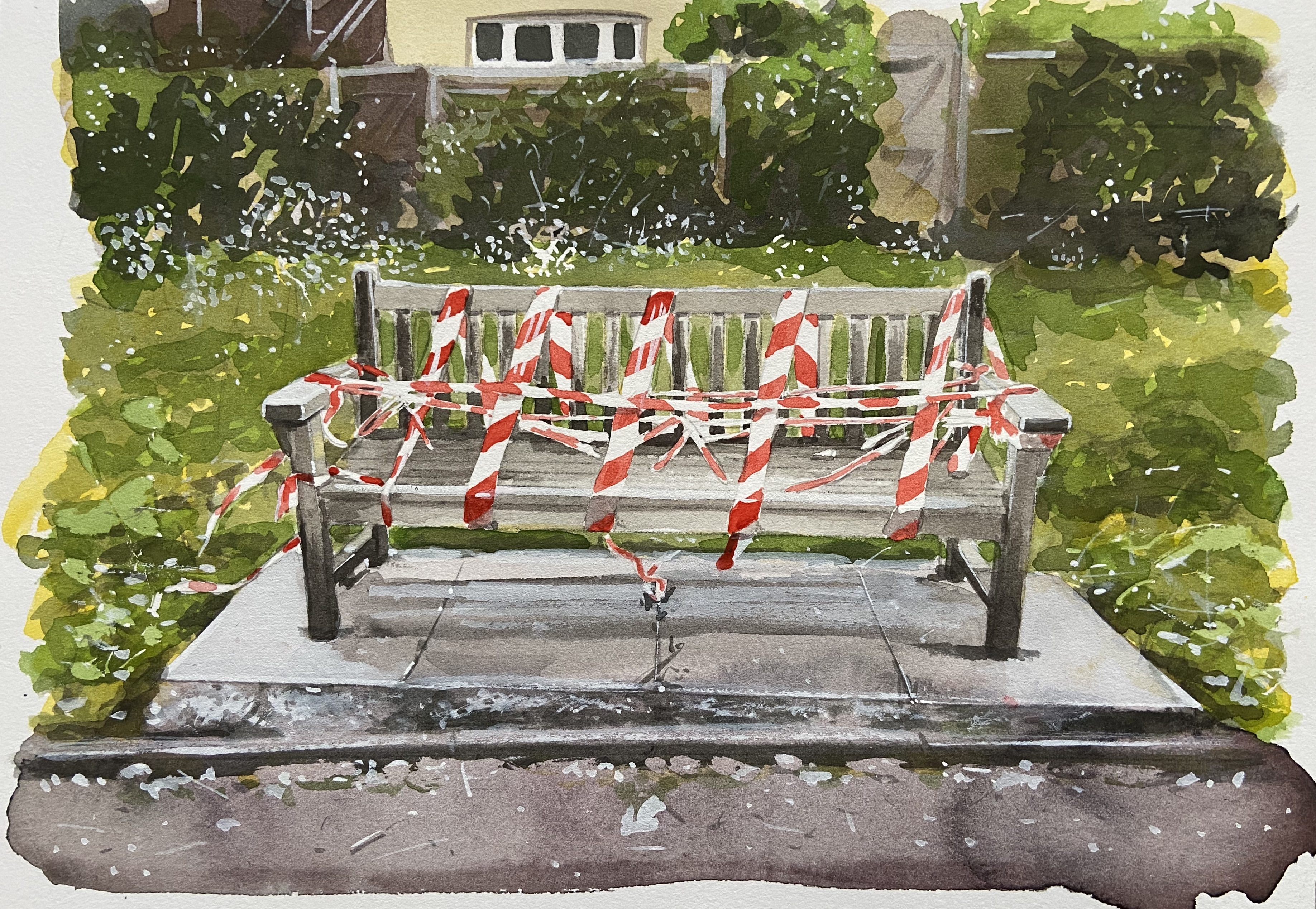 Untitled (Bench) 20
