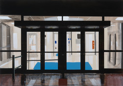 Untitled Doors Painting (Pupin Lab)
