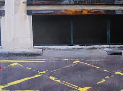 Untitled Kerbstone Painting (MJK)