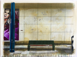 Untitled Bench Painting (15/06/96)