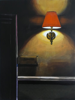 Untitled Lamp Painting (Room 253)
