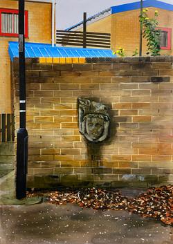 Untitled Wall Painting (Gordon Road Deity)