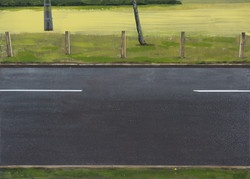 Untitled Road Painting (Colliery)