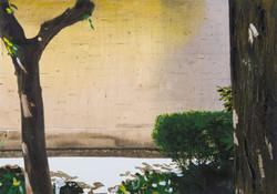 Untitled Garden Painting (Ramones)