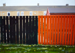 Untitled Fence Painting (The Rows)