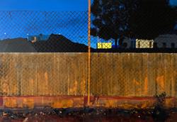 Untitled Fences Painting (Tempelhof)